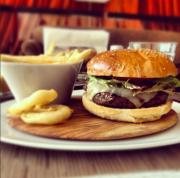 TAO burger. Haven't had it but it looks amazing!