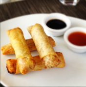 Cheeseburger Spring Rolls, One of my favourites!